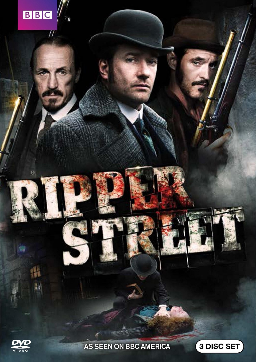 Ripper Street Staffel 1